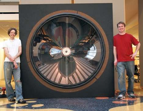 Boisterous Big Bass Speakers - The Giant Speaker Was Created at the University of Wisconsin