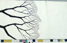 Majestic Tree People Murals