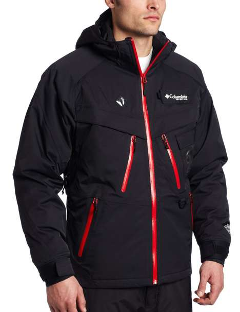 Electrically Insulated Outerwear - Stay Outdoors Longer with the Omni-Heat Electric Squall Jacket