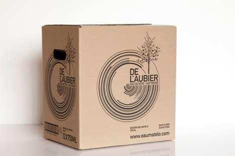De l'Aubier Maple Water Packaging