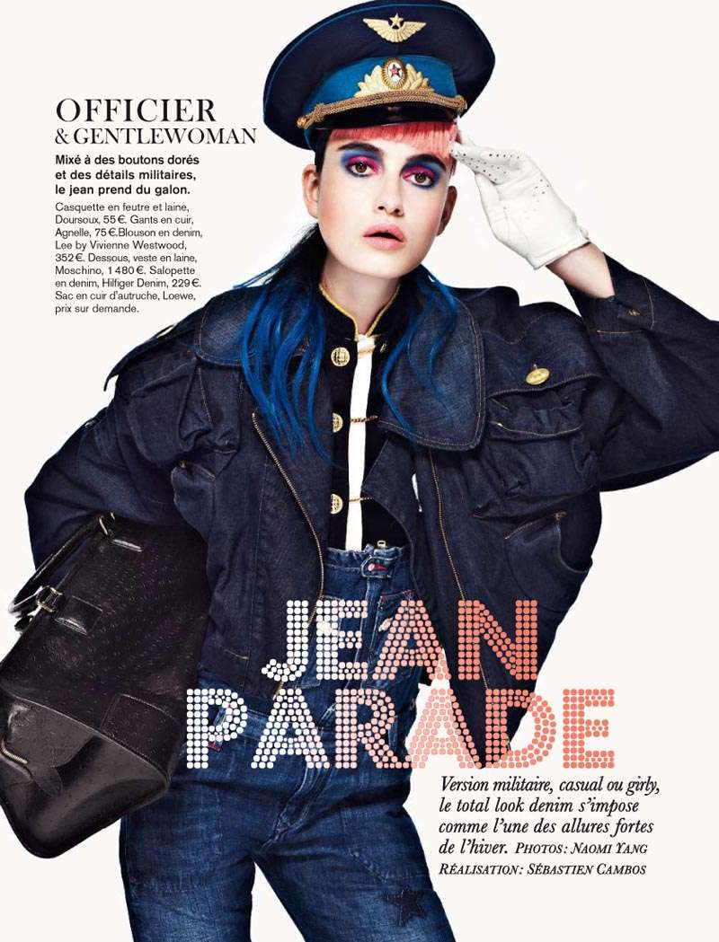 Multiple Personality Denim Editorials