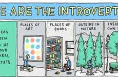 Inspirational Introvert Illustrations