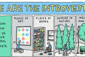 The 'We are the Introverts' Comic Encourages Individuality