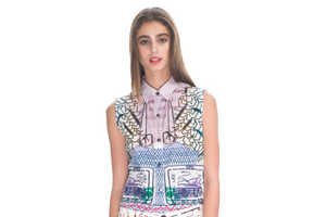 Spring 2013 Welcomes the CURRENT/ELLIOTT x Mary Katrantzou Collaboration