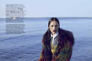 The November 2012 Elle Magazine Issue Features Oceanic Fun