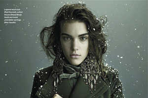 The November 2012 Elle Canada Issue Boasts Chilly Weather Coats