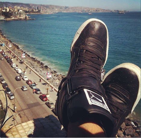 Globe-Trotting Sneaker Campaigns - Puma's 'Around the World in One Click' Speak to
