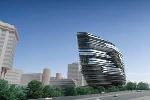 The Innovation Tower by Zaha Hadid Architects Appears Fluid