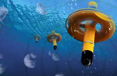 Buoyant Jellyfish Repellents