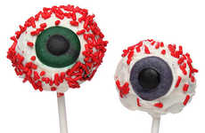 Popping Pupil Treats - Create Your Own Creep Eyeball Mountain Using Eyeball Cake Pops