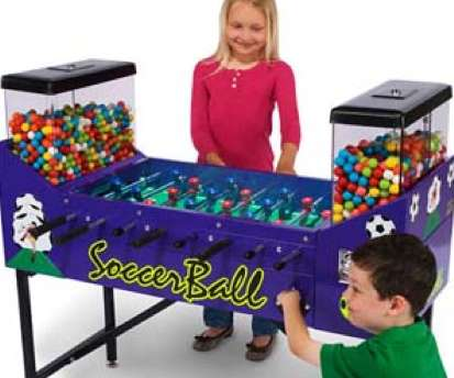 Fooseball Football Gumball Table