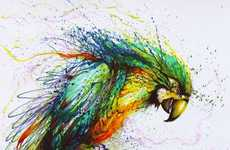 Chromatically Exploding Paintings