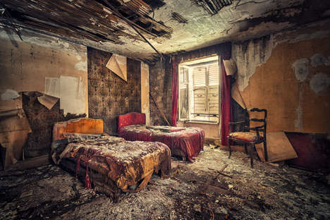Detailed Decaying Photography - Matthias Haker