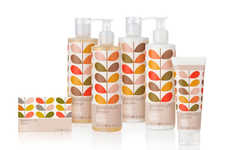 Bold Floral Branding - Orla Kiely Toiletries Packaging Bears Her Beautiful Geranium Motif