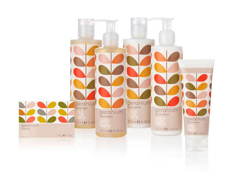 Orla Kiely Toiletries Packaging