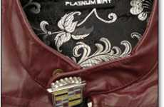 Leather Jackets From Vintage Carseats - Platinum Dirt VIN Jackets
