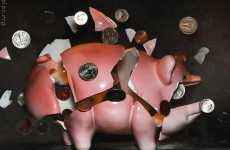 From Splashing to Smashed Piggy Banks