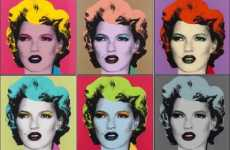 Big Buck Pop Art - Banksy's Kate Moss Sells for $150,000