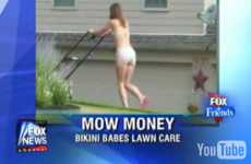 Bikini Lawn Service - A New Way to Create Controversy