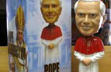 The Pope is for Sale (and His Bobble Head)