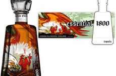 Art in a Bottle - Drink Your Way to Bigger Art Collection with 1800 Tequila