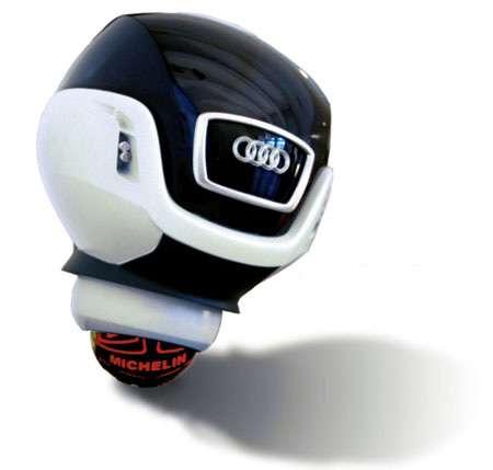 Monowheel Cars - Audi Snook Concept