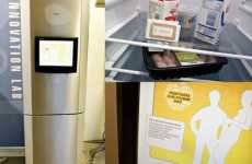 Touch Screen Fridge With RFID Tag Reader