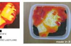 Edible Album Covers - Obacchi Jacket Bento Meals