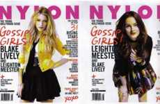 NYLON Features 2 Gossip Girls Covers