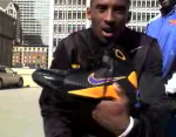 Kobe Bryant Jumps Over Aston Martin for Nike