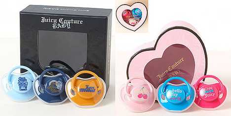 Designer Pacifiers 3 - Juicy Couture Soothers