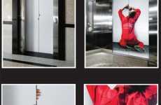 Guerrilla Elevator Ads
