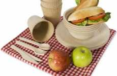 Edible Dishes - Biodegradable Picnic Ware