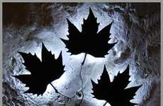 Luminescent Leaf Lights