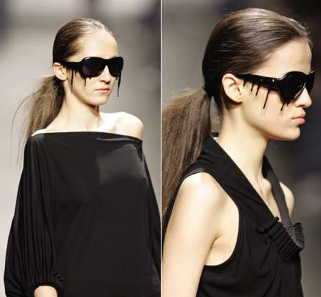 Dripping Tar Sunglasses - Anna ter Haar Designs