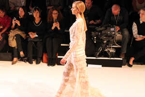 Elie Saab's Spring/Summer 2013 Collection is Translucent