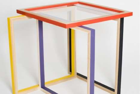 De-Cubed Table