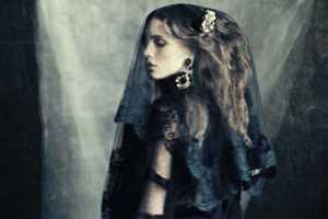 The Vogue Italia Marie Vatch Feature Showcases a Dark Allure
