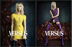 Vibrant Rocker Fashion