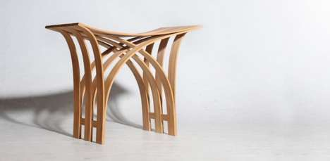 Flexible Bamboo Stool