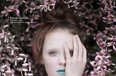 Prim Pink-Hued Portraits