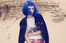 Wig-Laden Desert Editorials