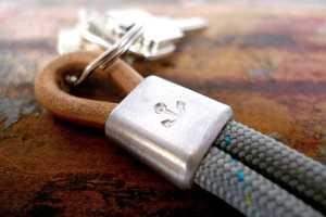 This 877 Anchor-Punched Keychain is a Save Haven for Your Keys