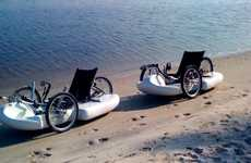 Dual-Use Sailing Bicycles