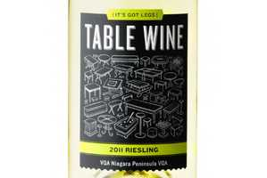 Table Wine Packaging Asserts That the Drink is Fit for Any Surface