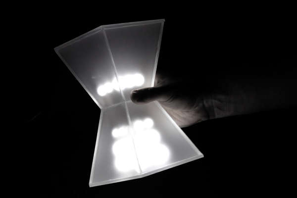 Hourglass Reading Lights