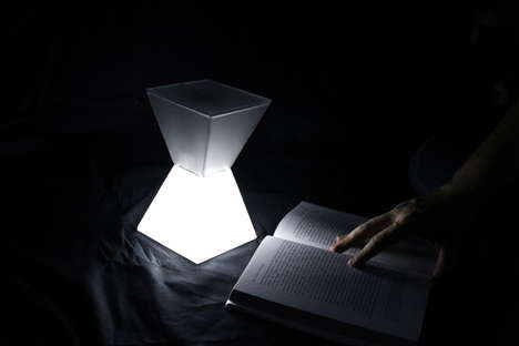 Clepsamia Time Lamp