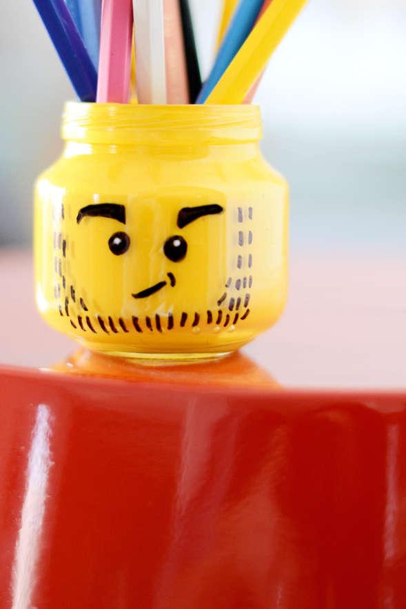 DIY Character Pen Pots