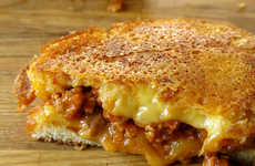 Sloppy Fromage Sandwiches - This 'Grilled Cheese Social' Creation Incorporates a Meaty S