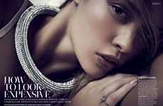 Premium Appearance Editorials - Marie Claire UK 'How to Look Expensive' Stars Lavish Rianne Haspels